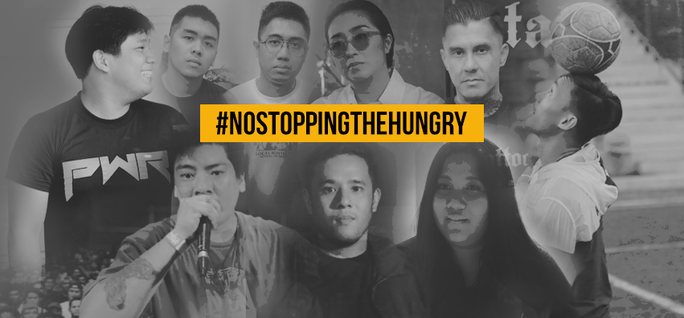 #NoStoppingTheHungry