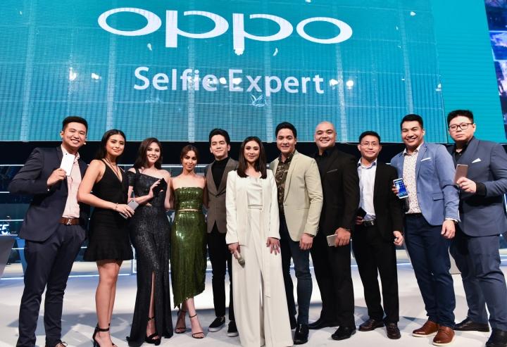 Oppo brand ambassadors