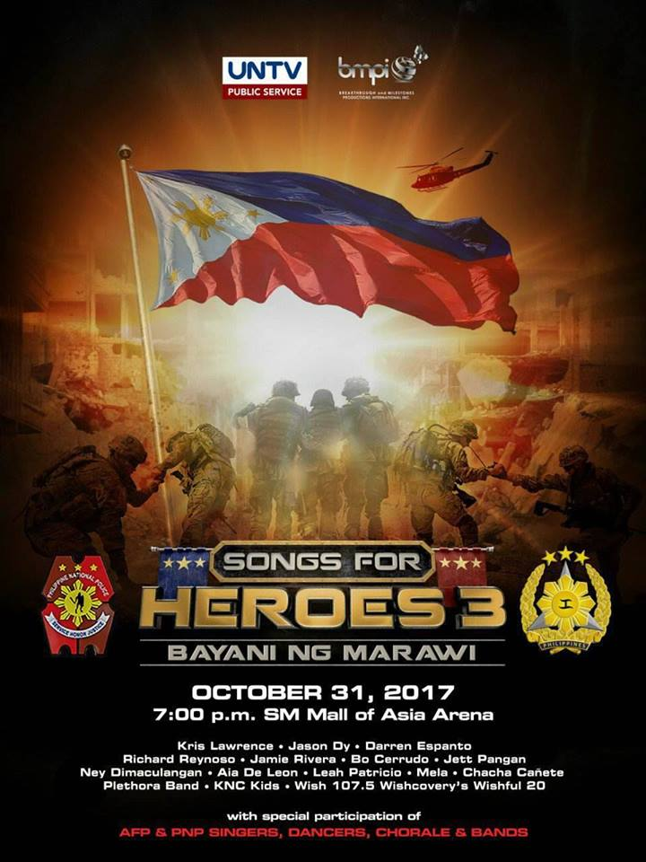 Songs for Heroes 3