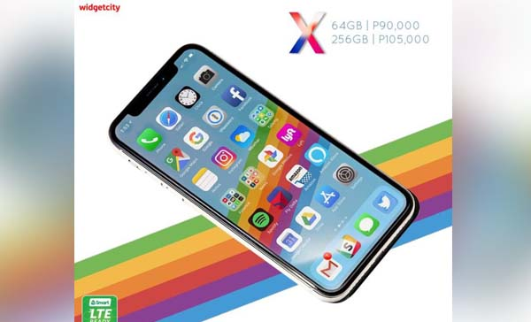 iPhone X Philippine Gray Market
